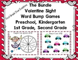 Valentine Printable Sight Word Games