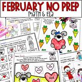 Valentine's Day Printables Language Arts & Math
