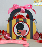 Valentine Printables - Bee Mine Valentine Bag
