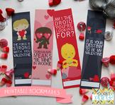 Valentine Printables - Star Heroes Bookmarks