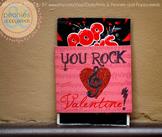 Valentine Printables - You Rock Labels