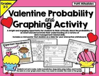 Valentine Probability and Graphing Activity: Hands-On Math