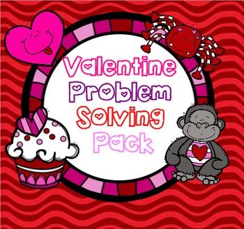 Valentine Problem Solving Pack