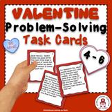 Valentine Problem-Solving Task Cards