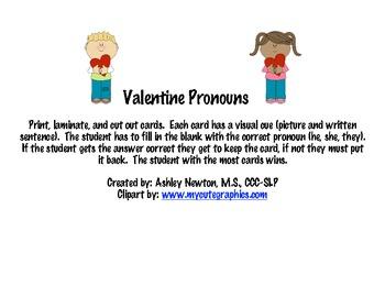Valentine Pronouns