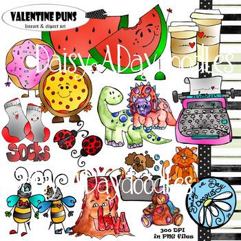 Doodle Fun Clip & Line Art