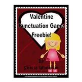 Valentine Punctuation Game FREEBIE!
