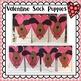 Valentine Puppy & Valentine Sack Pattern: Valentine's Day Craft
