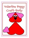 Valentine Puppy Craft-tivity