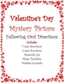 Valentine Puppy:  Following Directions Activity