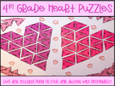 Valentine Puzzle Heart Multiplication Division Center