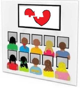 Valentine Puzzle (Mend A Broken Heart) Computer Activity