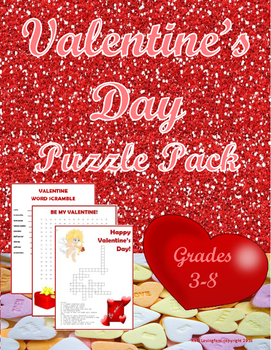 Valentine's Day Puzzle Pack
