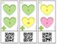 Valentine QR Code Addition Cards 1-10 ● Math Centers ● Addition
