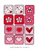 Valentine Quilt Block Matching Activity