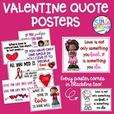 Valentine Quotes Posters- Love theme  *Color and ink frien