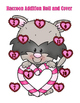Valentine Raccoon Addition - Roll and Cover - 2 Dice