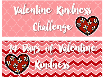 Valentine Random Acts of Kindness