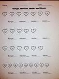 Valentine Range Median Mode Mean