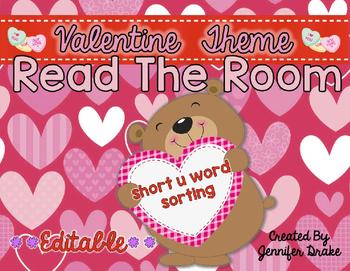 Valentine Read the Room **EDITABLE**