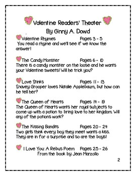 Valentine Readers' Theater