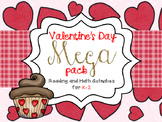 Valentine Reading and Math Mega Bundle