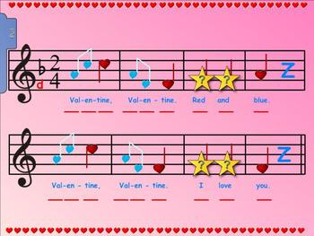 """Valentine Red and Blue - Prepare for """"Re"""" and New Rhythm """"Ta-a"""""""