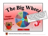 Valentine Review Games and Resources,Board Game Templates,Bingo,PowerPoint Games