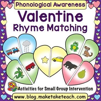 Rhyme - Valentine Rhyme Match