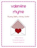Valentine Rhyme - Rhyming Oddity Literacy Center