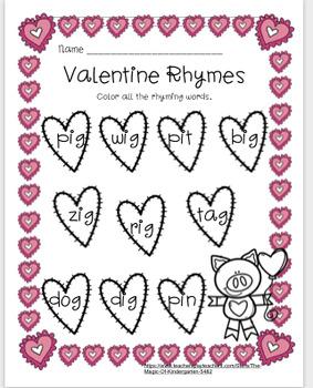 Valentine Rhymes