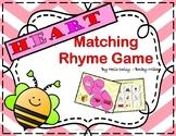 Valentine Rhyming Center Matching Game