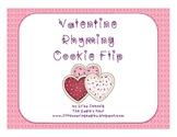 Valentine Rhyming Cookie Flip