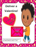 Valentine Rhyming and Sight Word Game- Deliver Me!
