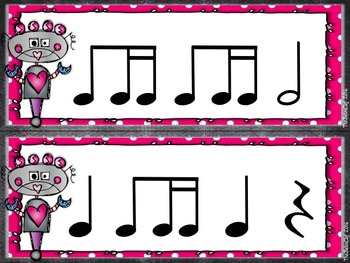 Valentine Rhythm Strips - Tika Ti / Ti Tika
