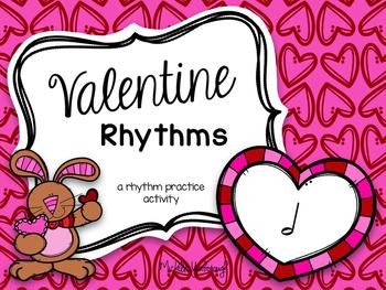 Valentine Rhythms: half note