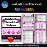 Valentine Puzzle for Algebra