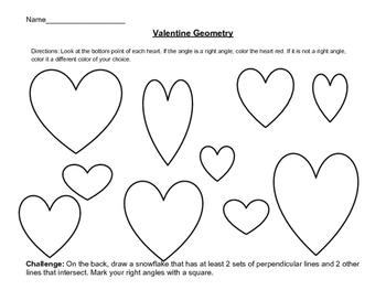 Valentine Right Angles