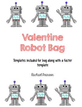 Valentine Robot Bag