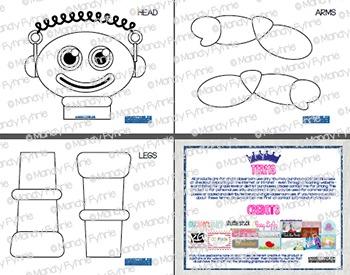 Valentine Robot Interactive Reader (IR) Book