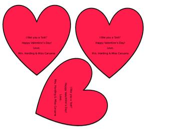 valentine robot signs - Valentine Signs