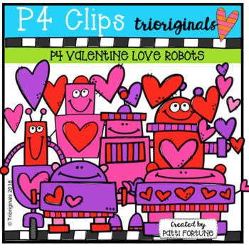 Valentine  Robots (P4 Clips Trioriginals)