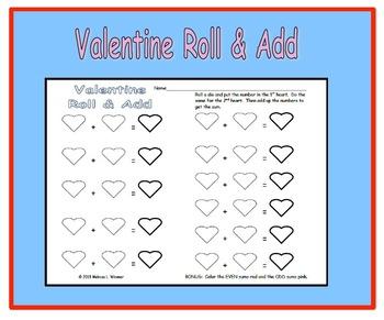 Valentine Roll & Add