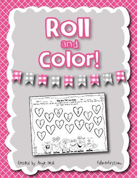 Valentine Roll and Color
