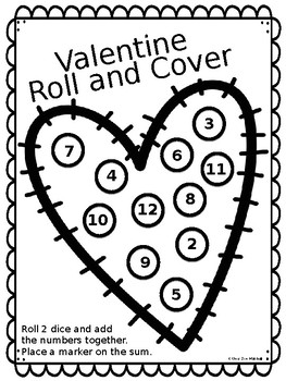 Valentine Roll and Cover FREEBIE