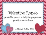 Valentine Rondo: Kodaly or Orff Activity for Rondo Form