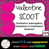 Valentine SCOOT Declarative, Interrogative, Exclamatory, o