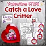 Valentine STEM:  Catch a Love Critter