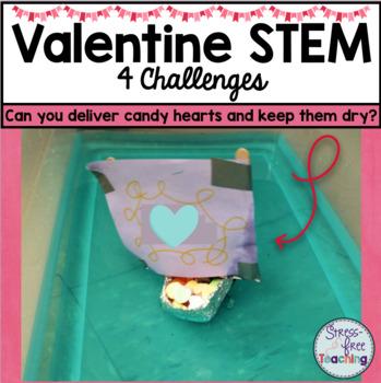 Valentine STEM Challenge Bundle