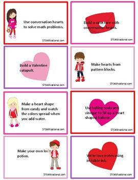 Valentine STEM Challenge Cards